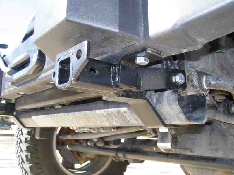 ... Tow Bar. Roadmaster Also Makes Brackets For The Stock Bumper. Blue Ox  Also Has Brackets For The JK.