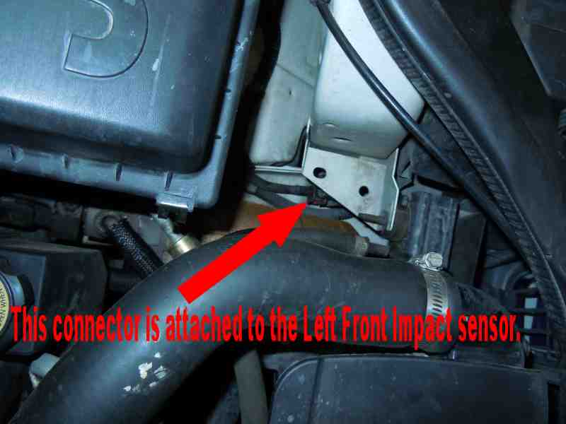 Are You Trying To Replace It Because Your Airbag Light Is On And The Trouble Code Says Left Front Impact Sensor Failure